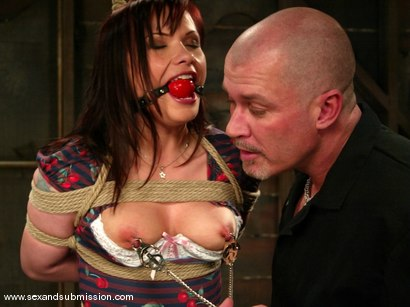 Photo number 5 from Katja Kassin shot for Sex And Submission on Kink.com. Featuring Mark Davis and Katja Kassin in hardcore BDSM & Fetish porn.