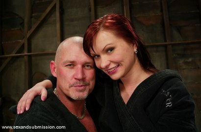 Photo number 15 from Katja Kassin shot for Sex And Submission on Kink.com. Featuring Mark Davis and Katja Kassin in hardcore BDSM & Fetish porn.