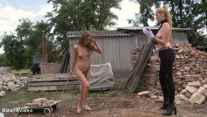 Photo number 15 from Hartwood Correctional Farm: Katy Kiraly, Kati Pearl, Donna Bell shot for Bizarre Video on Kink.com. Featuring  in hardcore BDSM & Fetish porn.