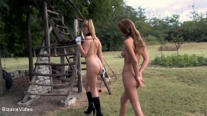 Photo number 2 from Hartwood Correctional Farm: Katy Kiraly, Kati Pearl, Donna Bell shot for Bizarre Video on Kink.com. Featuring  in hardcore BDSM & Fetish porn.