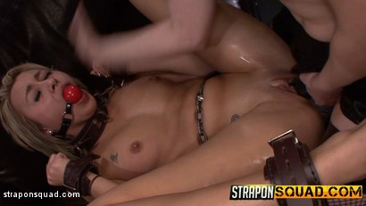 Photo number 11 from Marina Angel is Dominated by Riley Ray's Strapon Dildo shot for Strapon Squad on Kink.com. Featuring Marina Angel and Riley Reyes in hardcore BDSM & Fetish porn.
