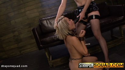 Photo number 3 from Marina Angel is Dominated by Riley Ray's Strapon Dildo shot for Strapon Squad on Kink.com. Featuring Marina Angel and Riley Reyes in hardcore BDSM & Fetish porn.