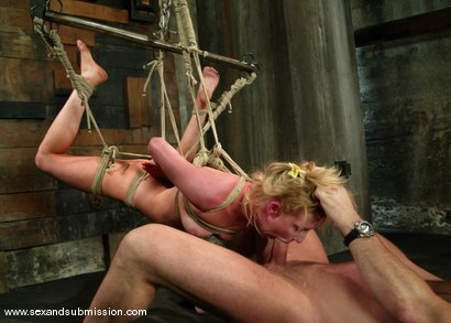 Photo number 11 from The Modeling Agent shot for Sex And Submission on Kink.com. Featuring Mark Davis and Alexa Lynn in hardcore BDSM & Fetish porn.