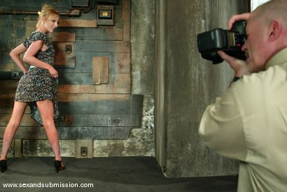 Photo number 2 from The Modeling Agent shot for Sex And Submission on Kink.com. Featuring Mark Davis and Alexa Lynn in hardcore BDSM & Fetish porn.