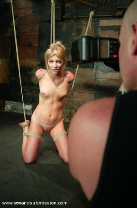 Photo number 5 from The Modeling Agent shot for Sex And Submission on Kink.com. Featuring Mark Davis and Alexa Lynn in hardcore BDSM & Fetish porn.