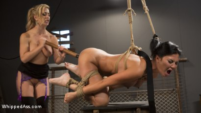 Photo number 13 from Big Tit Slut Gets Fucked by Loan Shark Cherie Deville  shot for Whipped Ass on Kink.com. Featuring Cherie DeVille and Jasmine Jae in hardcore BDSM & Fetish porn.