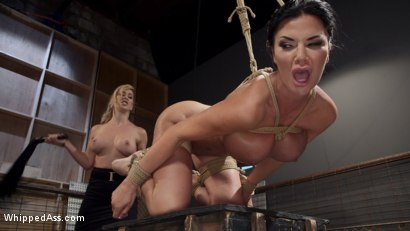 Photo number 17 from Big Tit Slut Gets Fucked by Loan Shark Cherie Deville  shot for Whipped Ass on Kink.com. Featuring Cherie DeVille and Jasmine Jae in hardcore BDSM & Fetish porn.