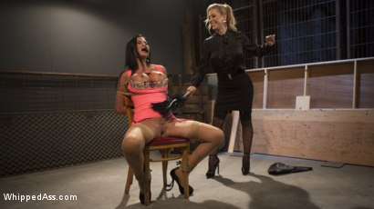 Photo number 19 from Big Tit Slut Gets Fucked by Loan Shark Cherie Deville  shot for Whipped Ass on Kink.com. Featuring Cherie DeVille and Jasmine Jae in hardcore BDSM & Fetish porn.