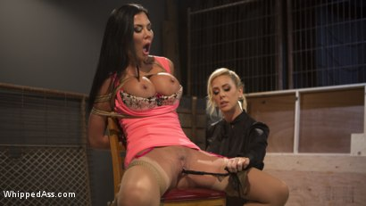 Photo number 26 from Big Tit Slut Gets Fucked by Loan Shark Cherie Deville  shot for Whipped Ass on Kink.com. Featuring Cherie DeVille and Jasmine Jae in hardcore BDSM & Fetish porn.