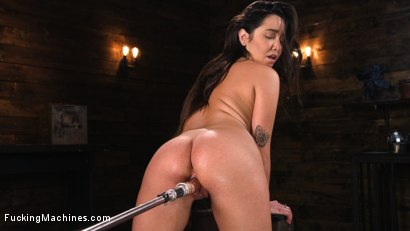 Photo number 3 from Big Tits, Big Ass, and Huge Squirting Orgasms!! shot for Fucking Machines on Kink.com. Featuring Karlee Grey in hardcore BDSM & Fetish porn.