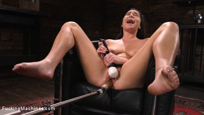 Photo number 9 from Big Tits, Big Ass, and Huge Squirting Orgasms!! shot for Fucking Machines on Kink.com. Featuring Karlee Grey in hardcore BDSM & Fetish porn.