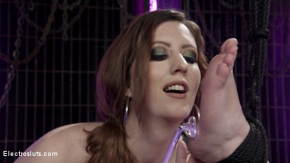 Photo number 17 from Cherry Torn Trains New Lesbian Electro-Slave shot for Electro Sluts on Kink.com. Featuring Cherry Torn and Mercy West in hardcore BDSM & Fetish porn.