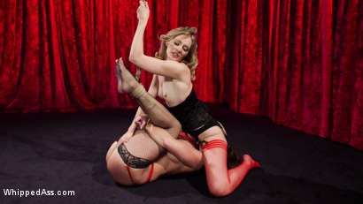 Photo number 11 from Make That Dick Disappear: Bombshell Christina Carter Returns!  shot for Whipped Ass on Kink.com. Featuring Mona Wales and Christina Carter in hardcore BDSM & Fetish porn.