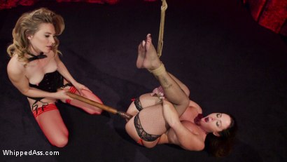 Photo number 19 from Make That Dick Disappear: Bombshell Christina Carter Returns!  shot for Whipped Ass on Kink.com. Featuring Mona Wales and Christina Carter in hardcore BDSM & Fetish porn.