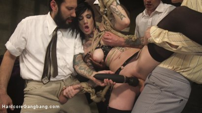 Photo number 15 from Reformed Living: The Mormon Way shot for Hardcore Gangbang on Kink.com. Featuring Jon Jon, Owen Gray, Tommy Pistol, Will Havoc, Steve Holmes and Nikki Hearts in hardcore BDSM & Fetish porn.