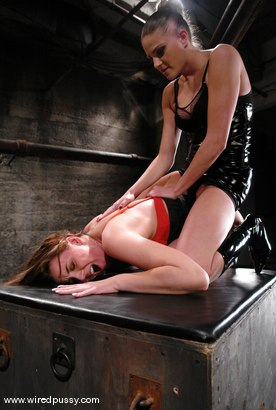 Photo number 4 from Nikki Nievez and Delilah Strong shot for Wired Pussy on Kink.com. Featuring Delilah Strong and Nikki Nievez in hardcore BDSM & Fetish porn.