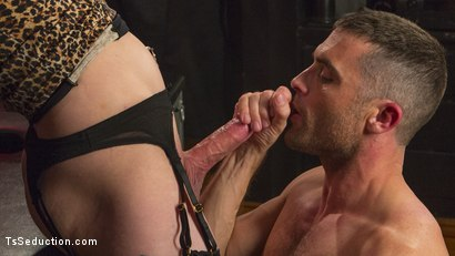 Photo number 10 from Chelsea Marie Makes Lance Hart Work For The Cock shot for TS Seduction on Kink.com. Featuring Chelsea Marie and Lance Hart in hardcore BDSM & Fetish porn.