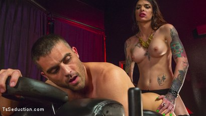 Photo number 19 from Chelsea Marie Makes Lance Hart Work For The Cock shot for TS Seduction on Kink.com. Featuring Chelsea Marie and Lance Hart in hardcore BDSM & Fetish porn.