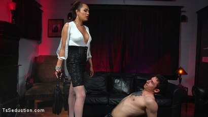 Photo number 3 from Out Foxed, Flogged, And Fucked shot for TS Seduction on Kink.com. Featuring Jessica Fox and Corbin Dallas in hardcore BDSM & Fetish porn.