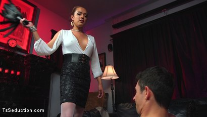 Photo number 4 from Out Foxed, Flogged, And Fucked shot for TS Seduction on Kink.com. Featuring Jessica Fox and Corbin Dallas in hardcore BDSM & Fetish porn.