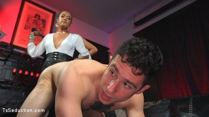 Photo number 7 from Out Foxed, Flogged, And Fucked shot for TS Seduction on Kink.com. Featuring Jessica Fox and Corbin Dallas in hardcore BDSM & Fetish porn.