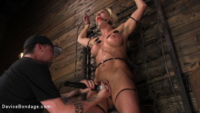 Photo number 11 from Taking One For the Team shot for Device Bondage on Kink.com. Featuring Ariel X and The Pope in hardcore BDSM & Fetish porn.