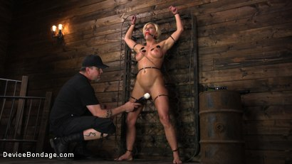 Photo number 3 from Taking One For the Team shot for Device Bondage on Kink.com. Featuring Ariel X and The Pope in hardcore BDSM & Fetish porn.
