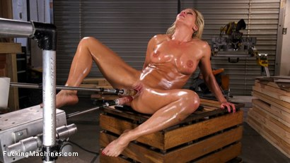Photo number 12 from Ariel X Double Penetrated and Squirting Everywhere shot for Fucking Machines on Kink.com. Featuring Ariel X in hardcore BDSM & Fetish porn.