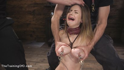 Photo number 13 from Fear Training: Stella Cox shot for The Training Of O on Kink.com. Featuring Stella Cox  and Bill Bailey in hardcore BDSM & Fetish porn.
