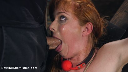 Photo number 4 from Captive Slut shot for Sex And Submission on Kink.com. Featuring Penny Pax and John Strong in hardcore BDSM & Fetish porn.