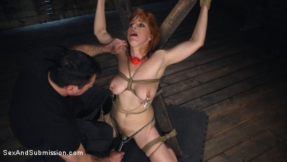 Photo number 5 from Captive Slut shot for Sex And Submission on Kink.com. Featuring Penny Pax and John Strong in hardcore BDSM & Fetish porn.