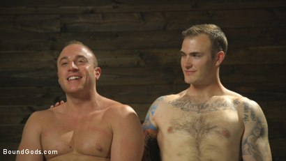 Photo number 15 from Self-Reflection shot for Bound Gods on Kink.com. Featuring Christian Wilde and Jacob Durham in hardcore BDSM & Fetish porn.