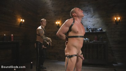 Photo number 10 from Self-Reflection shot for Bound Gods on Kink.com. Featuring Christian Wilde and Jacob Durham in hardcore BDSM & Fetish porn.