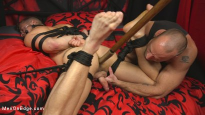 Photo number 9 from Hot new stud with a beautiful cock gets edged and fucked to cum! shot for Men On Edge on Kink.com. Featuring Jay Austin in hardcore BDSM & Fetish porn.