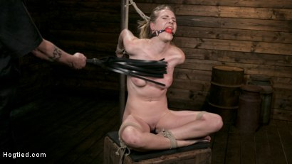 Photo number 1 from Extreme Domination and Torment in Mind Blowing Bondage shot for Hogtied on Kink.com. Featuring Ashley Lane and The Pope in hardcore BDSM & Fetish porn.