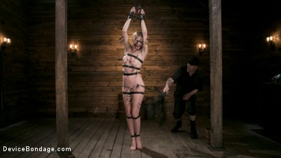 Photo number 2 from WARNING!! DEVASTATING TORMENT AND EXTREME SUFFERING!!! shot for Device Bondage on Kink.com. Featuring Ashley Lane and The Pope in hardcore BDSM & Fetish porn.