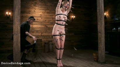 Photo number 15 from WARNING!! DEVASTATING TORMENT AND EXTREME SUFFERING!!! shot for Device Bondage on Kink.com. Featuring Ashley Lane and The Pope in hardcore BDSM & Fetish porn.