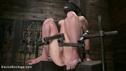 Photo number 4 from WARNING!! DEVASTATING TORMENT AND EXTREME SUFFERING!!! shot for Device Bondage on Kink.com. Featuring Ashley Lane and The Pope in hardcore BDSM & Fetish porn.