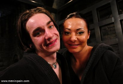 Photo number 15 from Sandra Romain and Kade shot for Men In Pain on Kink.com. Featuring Sandra Romain and Kade in hardcore BDSM & Fetish porn.