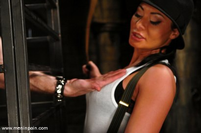 Photo number 2 from Sandra Romain and Kade shot for Men In Pain on Kink.com. Featuring Sandra Romain and Kade in hardcore BDSM & Fetish porn.