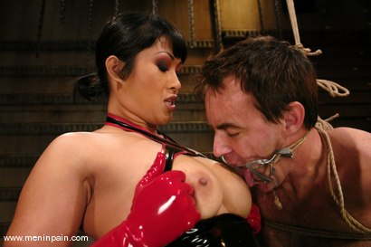 Photo number 9 from Wild Bill and DragonLily shot for Men In Pain on Kink.com. Featuring DragonLily and Wild Bill in hardcore BDSM & Fetish porn.