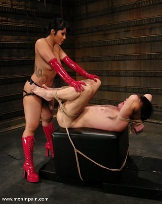 Photo number 10 from Wild Bill and DragonLily shot for Men In Pain on Kink.com. Featuring DragonLily and Wild Bill in hardcore BDSM & Fetish porn.
