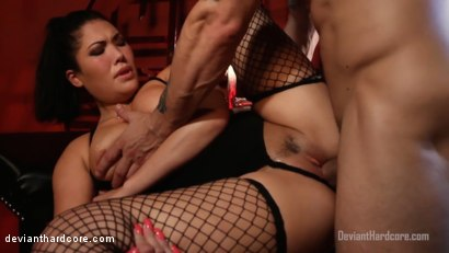 Photo number 15 from Submission 2: London Keyes, Mr. Pete shot for Deviant Hardcore on Kink.com. Featuring London Keyes and Mr. Pete in hardcore BDSM & Fetish porn.
