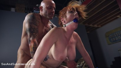 Photo number 6 from A Warm Gun shot for Sex And Submission on Kink.com. Featuring Lauren Phillips and Derrick Pierce in hardcore BDSM & Fetish porn.