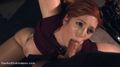 Photo number 8 from A Warm Gun shot for Sex And Submission on Kink.com. Featuring Lauren Phillips and Derrick Pierce in hardcore BDSM & Fetish porn.