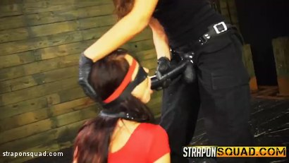 Photo number 2 from Kaisey Dean Loves Lesbian Domination Threesomes & Sybian  shot for Strapon Squad on Kink.com. Featuring Kaisey Dean, Marina Angel and Esmi Lee in hardcore BDSM & Fetish porn.