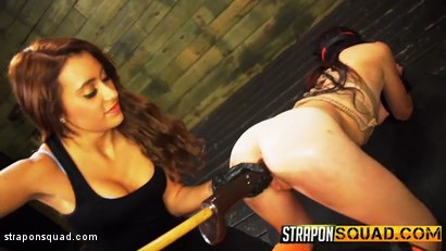 Photo number 4 from Kaisey Dean Loves Lesbian Domination Threesomes & Sybian  shot for Strapon Squad on Kink.com. Featuring Kaisey Dean, Marina Angel and Esmi Lee in hardcore BDSM & Fetish porn.