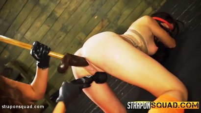 Photo number 5 from Kaisey Dean Loves Lesbian Domination Threesomes & Sybian  shot for Strapon Squad on Kink.com. Featuring Kaisey Dean, Marina Angel and Esmi Lee in hardcore BDSM & Fetish porn.