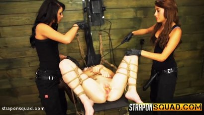 Photo number 10 from Kaisey Dean Loves Lesbian Domination Threesomes & Sybian  shot for Strapon Squad on Kink.com. Featuring Kaisey Dean, Marina Angel and Esmi Lee in hardcore BDSM & Fetish porn.