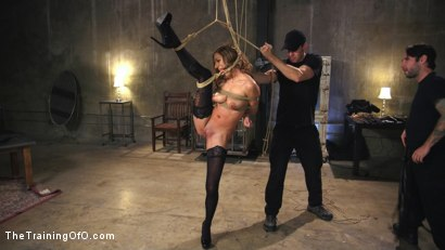 Photo number 1 from Breaking in the New Recruit: Moka Mora shot for The Training Of O on Kink.com. Featuring Moka Mora and Tommy Pistol in hardcore BDSM & Fetish porn.